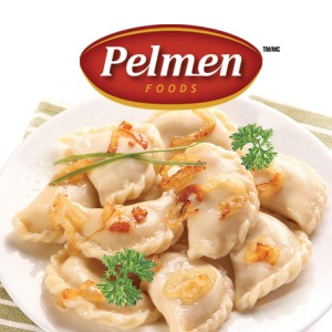 PELMEN FOODS PEROGIES WITH POTATO & FRIED ONIONS 16LB (BULK)