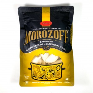 MOROZOFF - PEROGIES WITH POTATO & FRIED ONIONS 32OZ