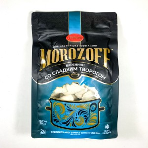 MOROZOFF  PEROGIES WITH SWEET CHEESE 28OZ