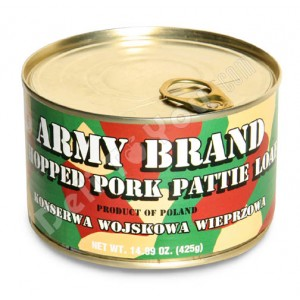 ARMY BRAND - CHOPPED PORK PATE