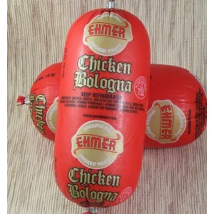 EHMER - CHICKEN BOLOGNA, SHORT LOAF