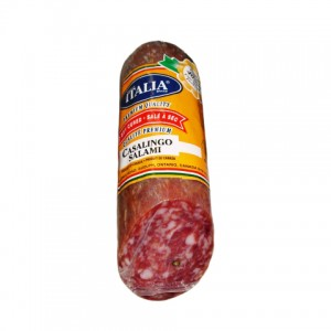ITALIA SALAMI  - CASALINGO SALT AND PEPPER CURED SALAMI