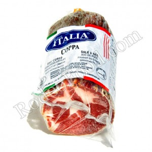 ITALIA SALAMI - COPPA SMOKED PORK SHOULDER