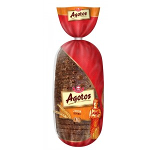 AGOTOS - DARK RYE BREAD, WHOLE LOAF