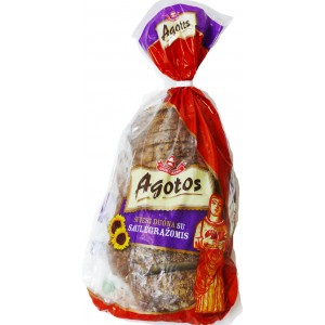 AGOTOS - DARK RYE BREAD WITH SUNFLOWER SEED