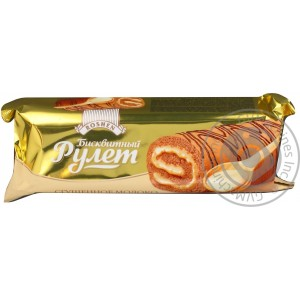 ROSHEN - CONDENSED MILK SWISS ROLL