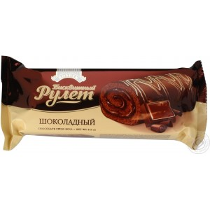 ROSHEN - CHOCOLATE SWISS ROLL