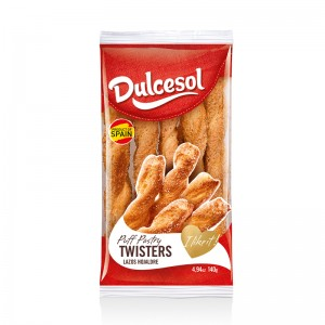 DULCESOL - PUFF PASTRIES TWISTERS