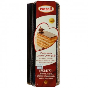 NATALI - CHOCO-HONEY CREAM CAKE MULATKA (ISRAEL)