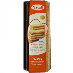 NATALI - HONEY LAYERED CREAM CAKE RIZHIK (ISRAEL)