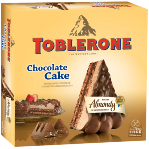 "ALMOND CAKE WITH ""TOBLERONE"" (SWEDEN)"