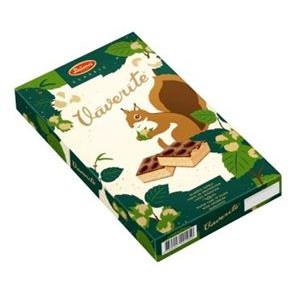 LAIMA - SQUIRREL MINI WAFER CAKES 250g