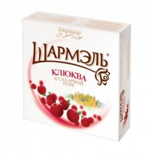 KOMMUNARKA - SHARMEL CRANBERRY IN POWDERED SUGAR
