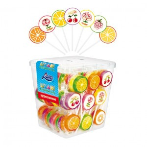 CARAMEL CANDY - LOLLIPOPS 0.35oz