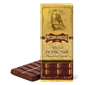 RUSSIAN CHOCOLATE - AERATED DARK CHOCOLATE