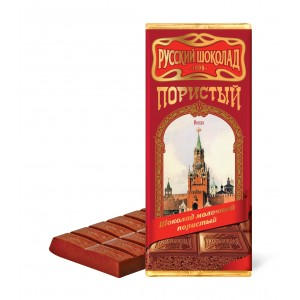 RUSSIAN CHOCOLATE - AERATED MILK CHOCOLATE