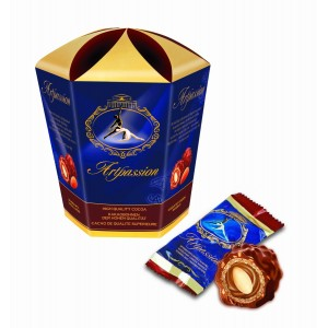 KRASNIY OKTYABR - ARTPASSION, GIFT PACK, CHOCOLATE CANDIES WITH HAZELNUTS
