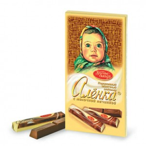 KRASNIY OKTYABR - ALYONKA MILK CHOCOLATE BAR