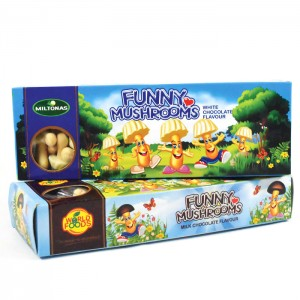 LAIMA - FUNNY MUSHROOMS WHITE CHOCOLATE