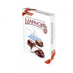 SHARMEL - CHOCOLATE-GLAZED PLOMBIR MARSHMALLOW