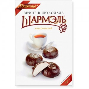 SHARMEL - CHOCOLATE-GLAZED CLASSIC MARSHMALLOW