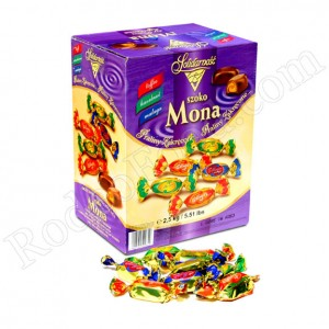 SOLIDARNOST - MONA, FIVE ASSORTED CANDIES