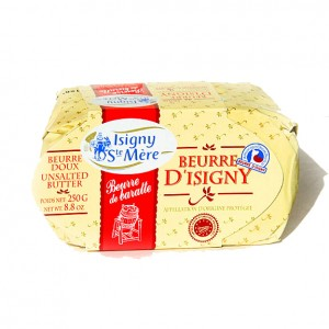 D'ISIGNY - FRENCH UNSALTED BUTTER BRIQUETTE