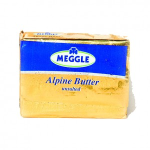 MEGGLE - GERMAN ALPINE BUTTER UNSALTED