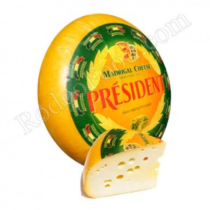 PRESIDENT - FRENCH MADRIGAL BABY SWISS CHEESE