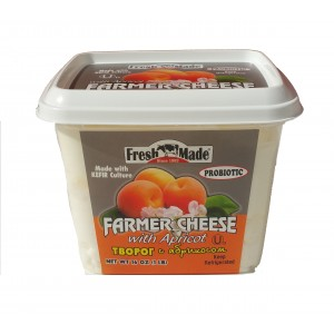 FRESH MADE - FARMER CHEESE WITH APRICOT