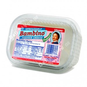 LIFEWAY - BAMBINO PROBIOTIC FARMER CHEESE SPREAD