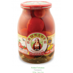 TODORKA - ASSORTED PICKLED TOMATOES & GHERKINS HOT 2.2lb