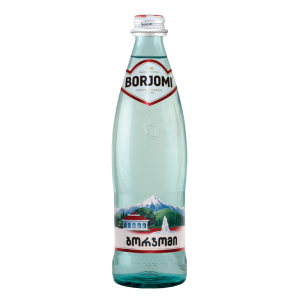 BORJOMI - MINERAL WATER GLASS BOTTLE 1.1lb