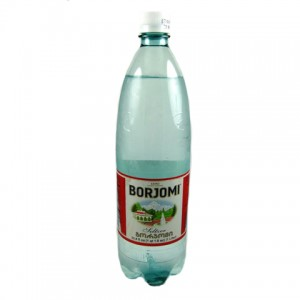BORJOMI - MINERAL WATER PLASTIC BOTTLE 2.2lb