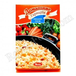 DOMASHNIE GARNIRU - RICE WITH VEGETABLES