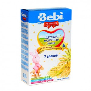 BEBI - MILK KASHA WITH 7 CEREALS