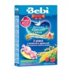 BEBI - MILK KASHA FROM 3 CEREALS WITH RASPBERRY & MELISSA