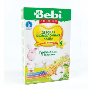 BEBI - DAIRY FREE BUCKWHEAT WITH APPLE KASHA