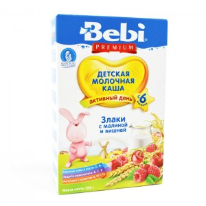 BEBI - CEREALS WITH RASPBERRY AND CHERRY KASHA