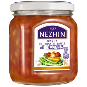 NEZHIN - BEANS IN TOMATO SAUCE WITH VEGETABLES