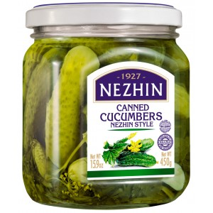 NEZHIN - CANNED CUCUMBERS
