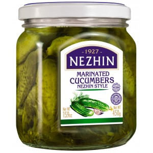 NEZHIN - MARINATED CUCUMBERS