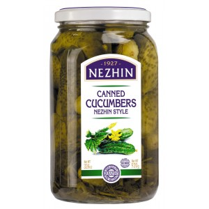 NEZHIN - CANNED CUCUMBERS 2lb