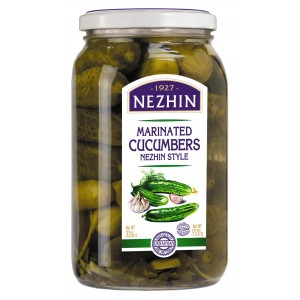 NEZHIN - MARINATED CUCUMBERS 2lb