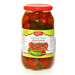 TRADICII VKUSA - PICKLED CHERRY TOMATOES WITH DILL 2.2lb