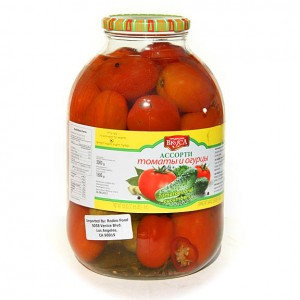 TRADICII VKUSA - TOMATOS PICKLED hot 6.6lb