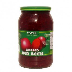 VAVEL - GRATED RED BEETS
