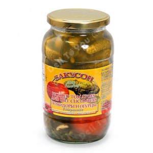 ZAKUSON - TOMATOES & PICKLES MIX ASSORTI
