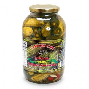 ZAKUSON - DELICIOUS PICKLES, POLISH STYLE 4.4lb