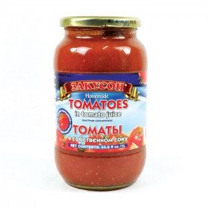 ZAKUSON - TOMATOES IN TOMATO JUICE 2.2lb